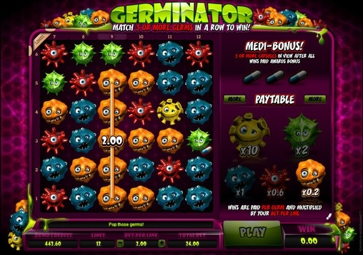Germinator Free Slot Machine Game