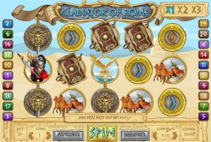 Gladiators of Rome Free Slot Machine Game