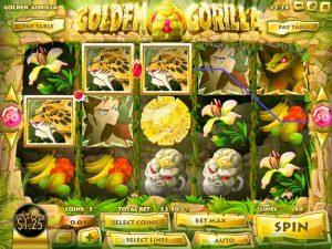 Golden Gorilla Free Slot Machine Game