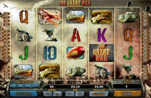 Great War Free Slot Machine Game