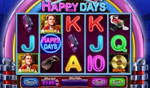 Happy Days Online Slot
