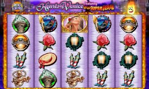 Hearts of Venice Fruit Machine Game