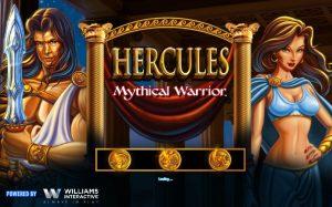 Hercules Mythical Warrior Free Slot Machine Game