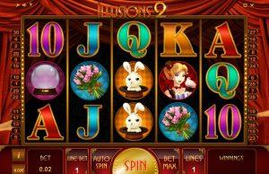 Illusions 2 Free Slot Machine Game