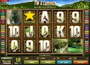 I'm a Celebrity - Get me out of Here Slot Game