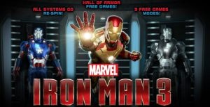 Iron Man 3 Slot Machine Game