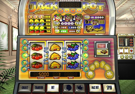How Jackpot 6000 Represents the Best of Online Slots