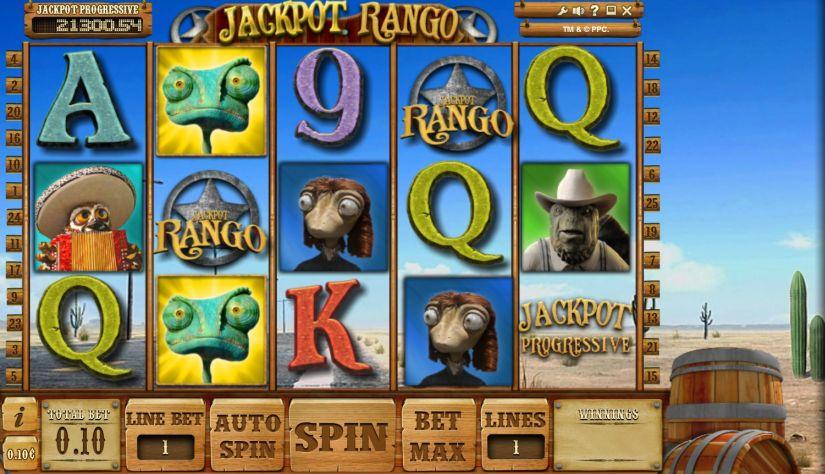 Jackpot Rango Online Slot Game