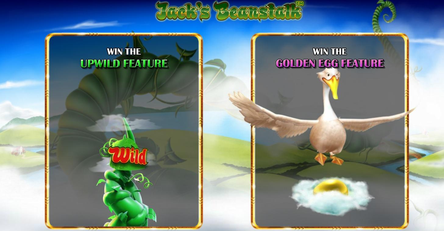Jacks Beanstalk Online Slot Game