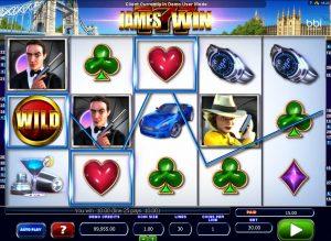 James Win Free Slot Machine Game
