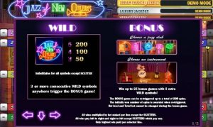 Jazz of New Orleans Free Slot Machine Game
