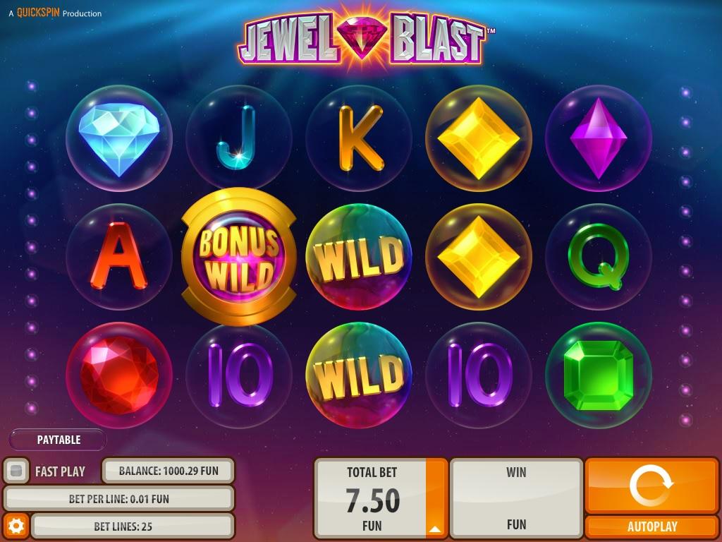 Jewel Blast Online Slot Game