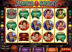 Jewels of the Orient Free Slot Machine Game