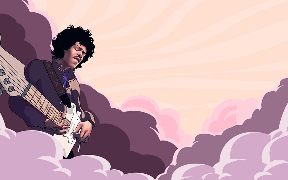 Jimi Hendrix Slot Machine Game