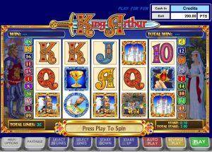 King Arthur Free Online Slot