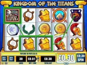 Kingdom of the Titans Online Slot