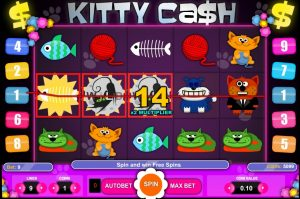 Kitty Cash Free Slot Machine Game