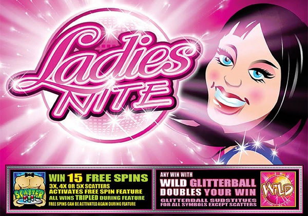 Ladies Nite Free Fruit Machine Game