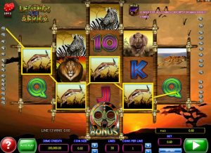 Legends of Africa Free Slot Machine Game