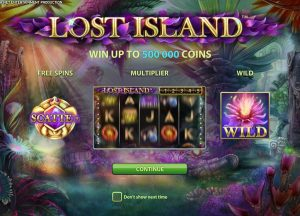 Lost Island Online Slot