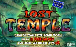 Lost Temple Slot Game