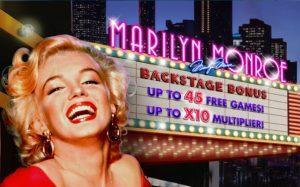 Marilyn Monroe Free Fruit Machine Game