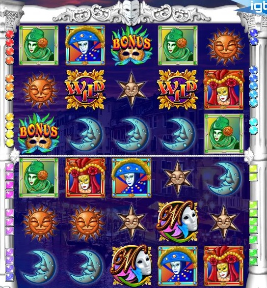 Masques of San Marco Free Slot Game