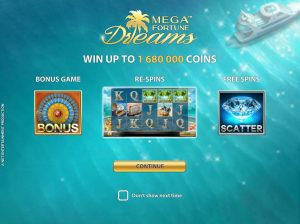 Mega Fortune Dreams Online Slot Game