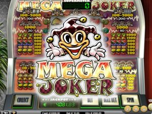 Mega Joker is one of the oldest online slots