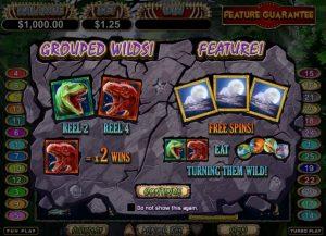Megasaur Free Slot Machine Game