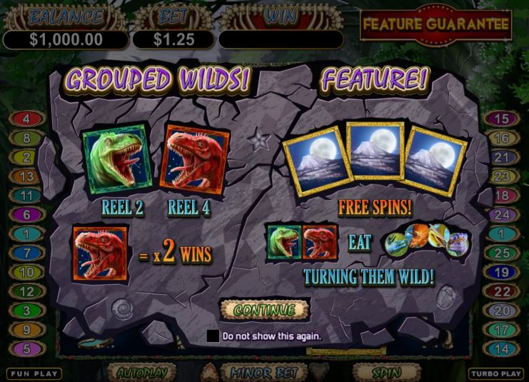 Megasaur Slot Machine