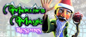 Merlins Magic Respins Christmas Free Slot Machine Game