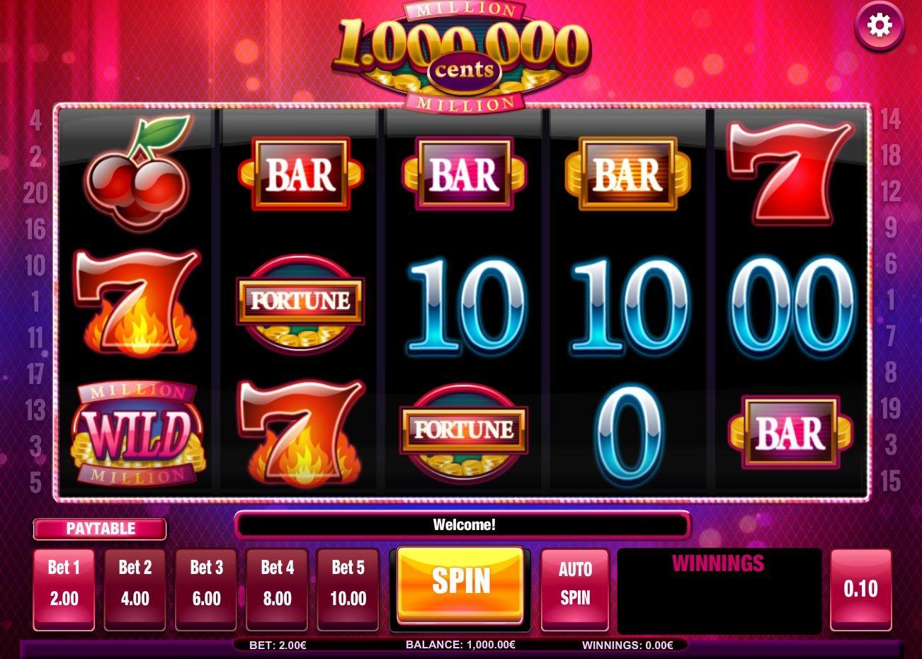 Million Cents Free Slot Machine Game