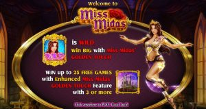 Miss Midas Slot Machine Game