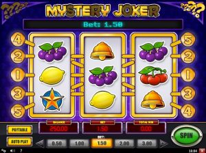 Mystery Joker Slot Machine Game