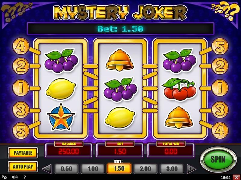 Mystery Joker Slot Machine Game