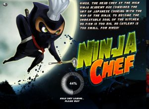 Ninja Chef Slot Machine Game