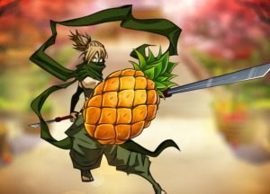 Ninja Fruits Free Fruit Machine Game
