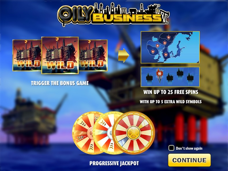 Play Oily Business Slots with No Download