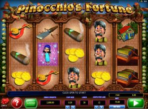 Pinocchio's Fortune Free Slot Machine Game