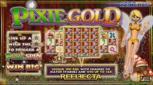 Pixie Gold Online Slot Game