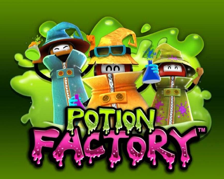 Potion Factory Free Slot Machine Game