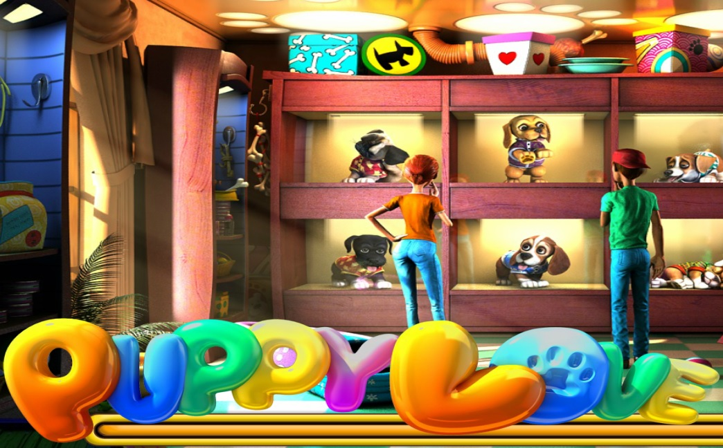 Puppy Love™ Slot Machine Game to Play Free in BetSofts Online Casinos
