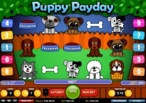 Puppy Payday Free Slot Machine Game