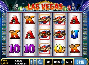 Quick Hit Las Vegas Online Slot Game