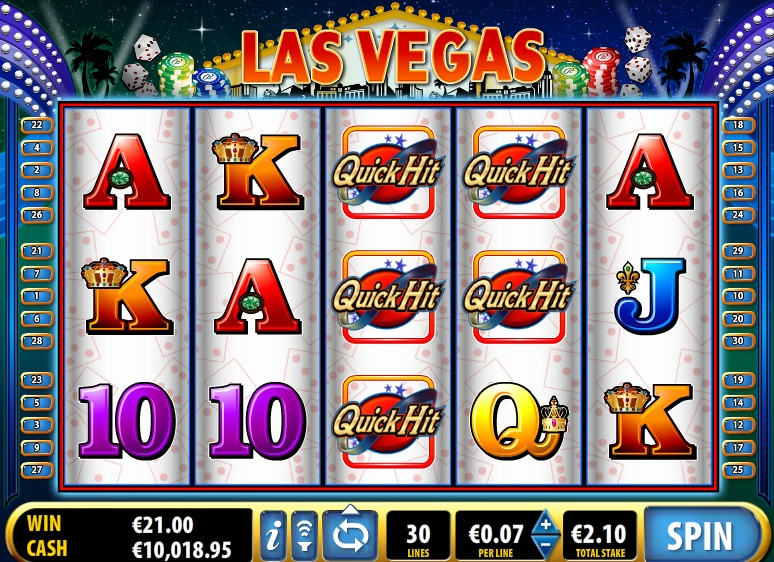 Quick Hit Las Vegas Online Slot Game