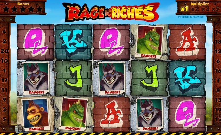 Rage to Riches Online Slot Game