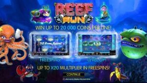 Reef Run Online Slot Game
