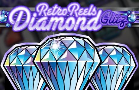 Retro Reels Diamond Glitz Fruit Machine Game