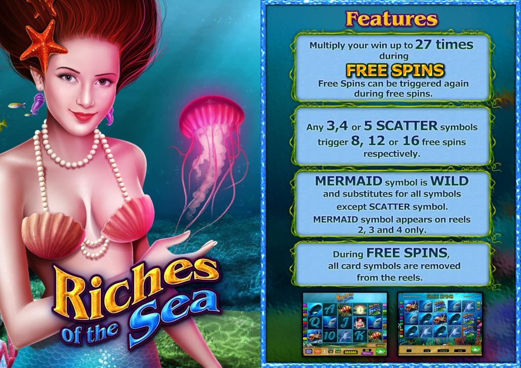 Riches of the Sea Slot Machine - Play Online for Free Money